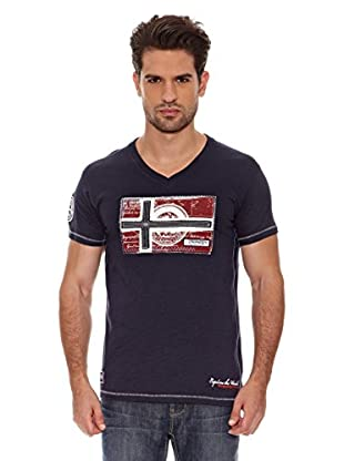 Geographical Norway Camiseta Jeographic Ss Men 202 (Marino)