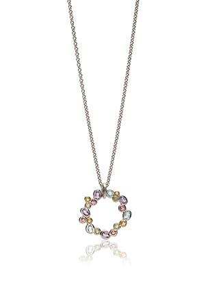 Robin Rotenier Multi Semi-Precious Elise Pendant, Multicolor