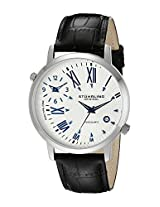 Stuhrling Original Analog Silver Dial Men's Watch - 343.33152