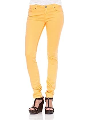 Heartless Jeans Pantalón Vaquero Blazing (Naranja)
