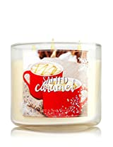 Bath And Body Works Scented 3 Wick Candle 14.5 Oz Salted Caramel