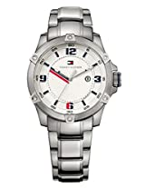 Tommy Hilfiger Analog White Dial Men's Watch - TH1790781J
