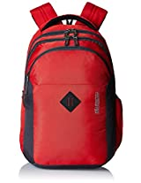 American Tourister Comet Red Laptop Backpack (Comet 01_8901836135282)