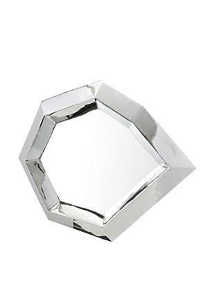 DKLiving Stainless Steel-Framed Mirror, Silver