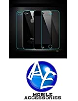 AE Tempered Glass Screen Scratch Protector Guard for Apple Iphone 4 / 4S Front and Back by AE MOBILE ACCESSORIES