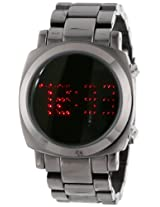 TKO ORLOGI Women's TK574-BK Digi-Metal Black Metal LED Watch