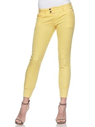 Crema Pantalón Pesquero Básico (Amarillo)