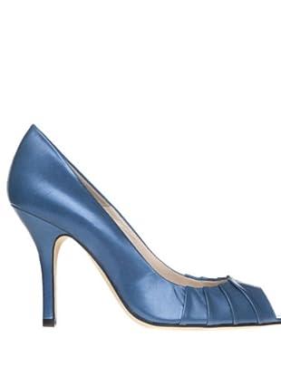 Magrit Zapatos Peep Toe (dorado)