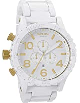 Nixon 51-30 White Chrono Mens Watch A0831035-00