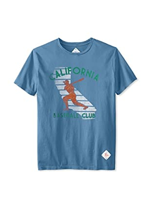 7th Inning Stretch Men's Cali Baseball T-Shirt (Blue)