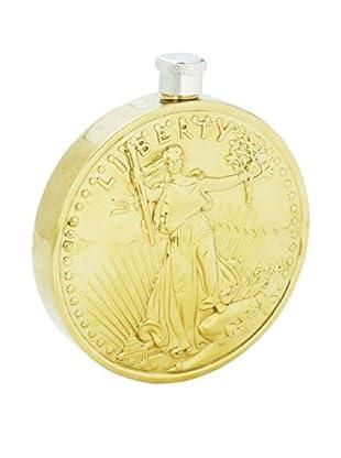 Twenty Dollar Coin Flask