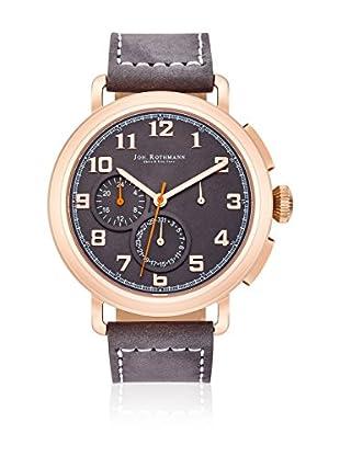 Joh. Rothmann Reloj con movimiento cuarzo japonés  Gris 46 mm