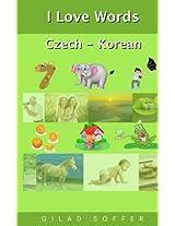 I Love Words Czech - Korean