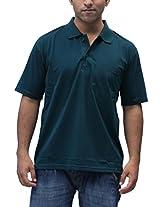 Romano Men's Cotton Polo Green