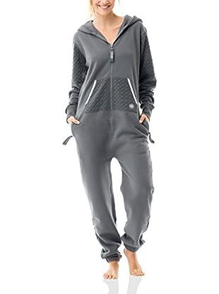 ZipUps Mono-Pijama Zipups Geo Puff