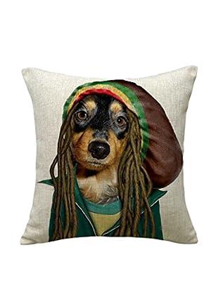 LO+DEMODA Kissenbezug Jamaica Dog