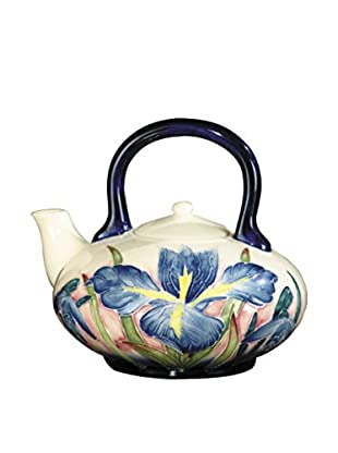 Dale Tiffany Iris Tea Pot, Blue Multi