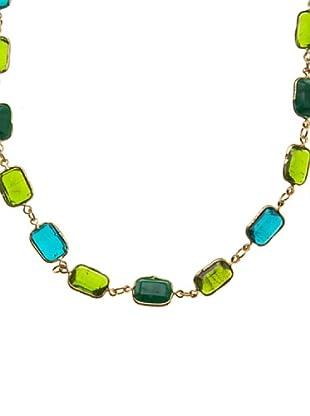 Sigris Collar Piedras (Dorado Viejo)