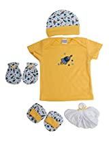 Mee Mee MM-33087A Pampering Present for New Borns Combo Set (Yellow)