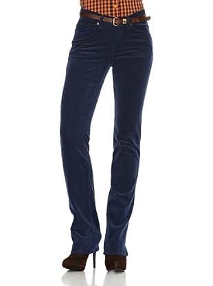 Gant Pantalón 5 Bolsillos (Azul)