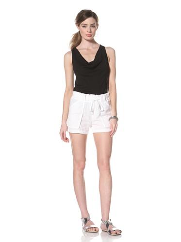 Splendid Women's Drawstring Short (White)