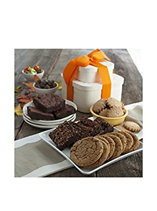 Dancing Deer Baking Co. Fall Harvest Gift Tower