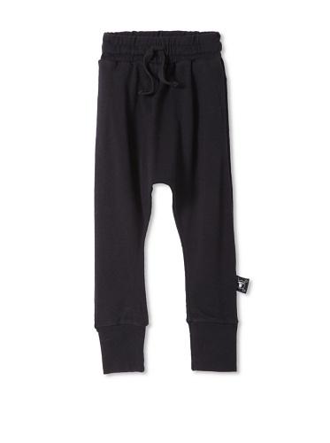 NUNUNU Baby Baggy Knit Pants (Black)