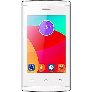 Intex Aqua T5 Smart Android Kitkat Mobile Phone - White
