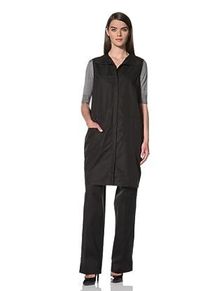 JIL SANDER Women's Sleeveless Zip-Front Jacket