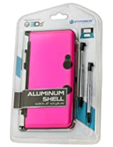 Hyperkin 3DS Aluminum Shell Plus Stylus Pens Kit (Pink)