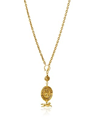 CHANEL Long Horse Pendant Necklace