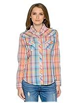 Women Casual Checkered Shirt
