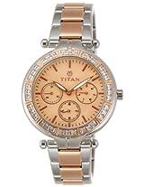 Titan Analog Multiclolor Dial Women's Watch - 9965KM01J