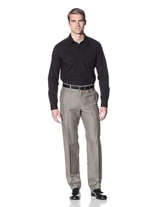Hart Schaffner Marx Men's Trouser (Grey)