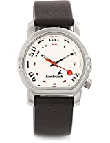 Fastrack Essentials Analog Watch For Men Brown NA1161SL01