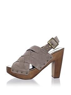 Ciao Bella Women's Haute Slingback Sandal (Light Taupe)