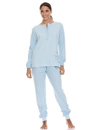 Bkb Pijama Señora (Celeste)