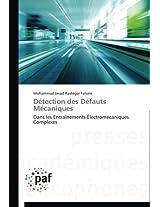 Detection Des Defauts Mecaniques