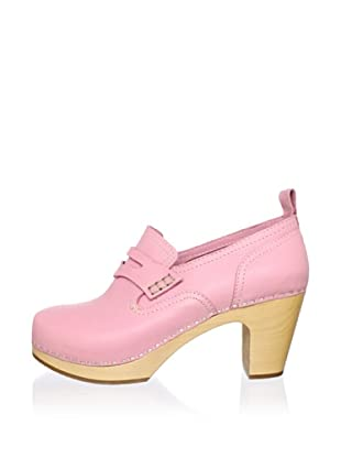 Swedish Hasbeens Women's Loafer Pump (Bubble Gum)
