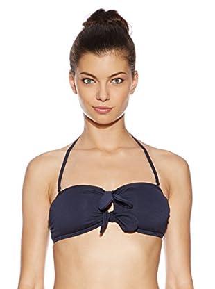 Juicy Couture Bikini-Oberteil Bow Chic (dunkelblau)
