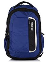 American Tourister Polyester Blue Laptop Bag (29W (0) 01 005)