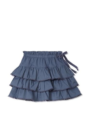 Neige Girl's Nellie Tiered Skirt (Baltic)
