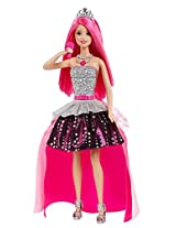 Barbie Rock and Royals Courtney Doll, Multi Color