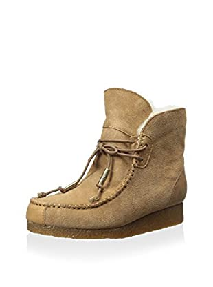Australia Luxe Collective Women's Galahad Suede Lace Up Shearling Ankle Boot