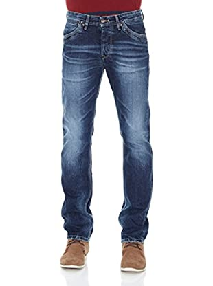 Pepe Jeans London Vaquero Slim Rivet (Azul Oscuro)