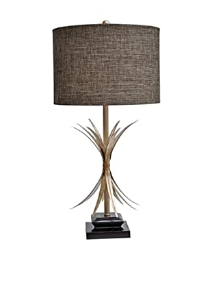 Greenwich Lighting Sundance Table Lamp, Toasted Silver