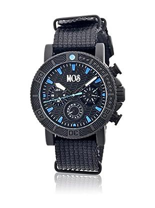 Mos Reloj con movimiento cuarzo japonés Mossp105 Negro 45  mm