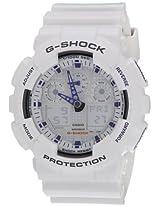 Casio G-Shock Analog-Digital Beige Dial Men's Watch - GA-100A-7ADR (G274)