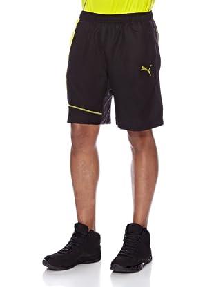 Puma Woven Longer Short 2 (Black)