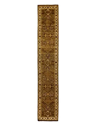 Darya Rugs Traditional Oriental Rug, Brown, 2' 6